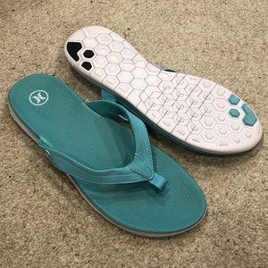 EUC Hurley Flip Flops